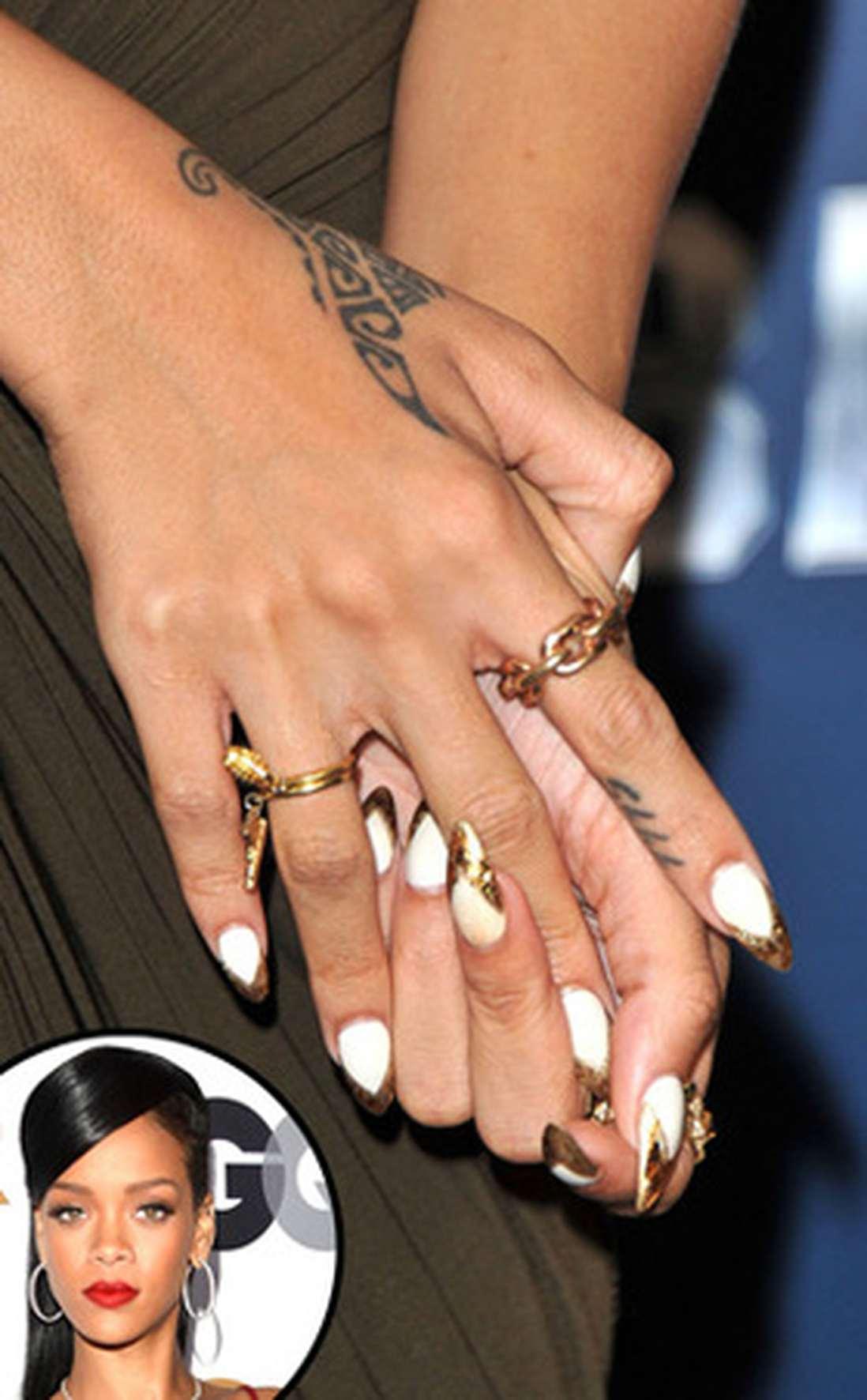 Какие ногти у звезд
