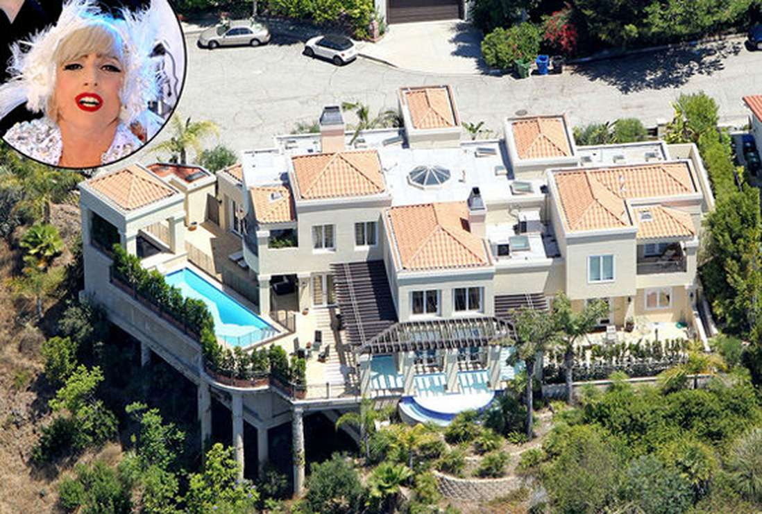Дома звезд голливуда фото