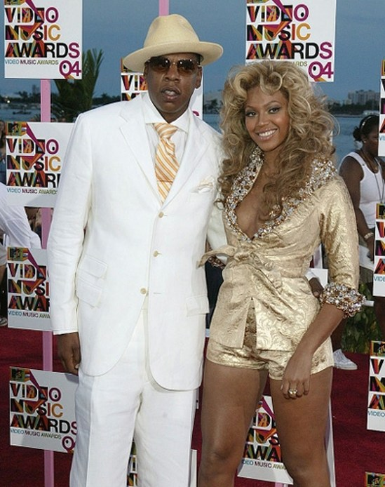 Бейонсе и Джей Зи на MTV Video Music Awards 2004