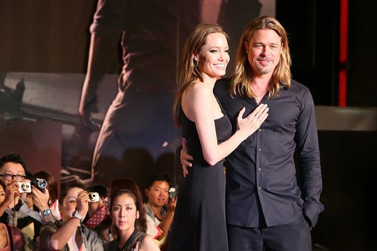 Свадьба Анджелина Джоли и Бреда Питта: Семейный фотоальбом