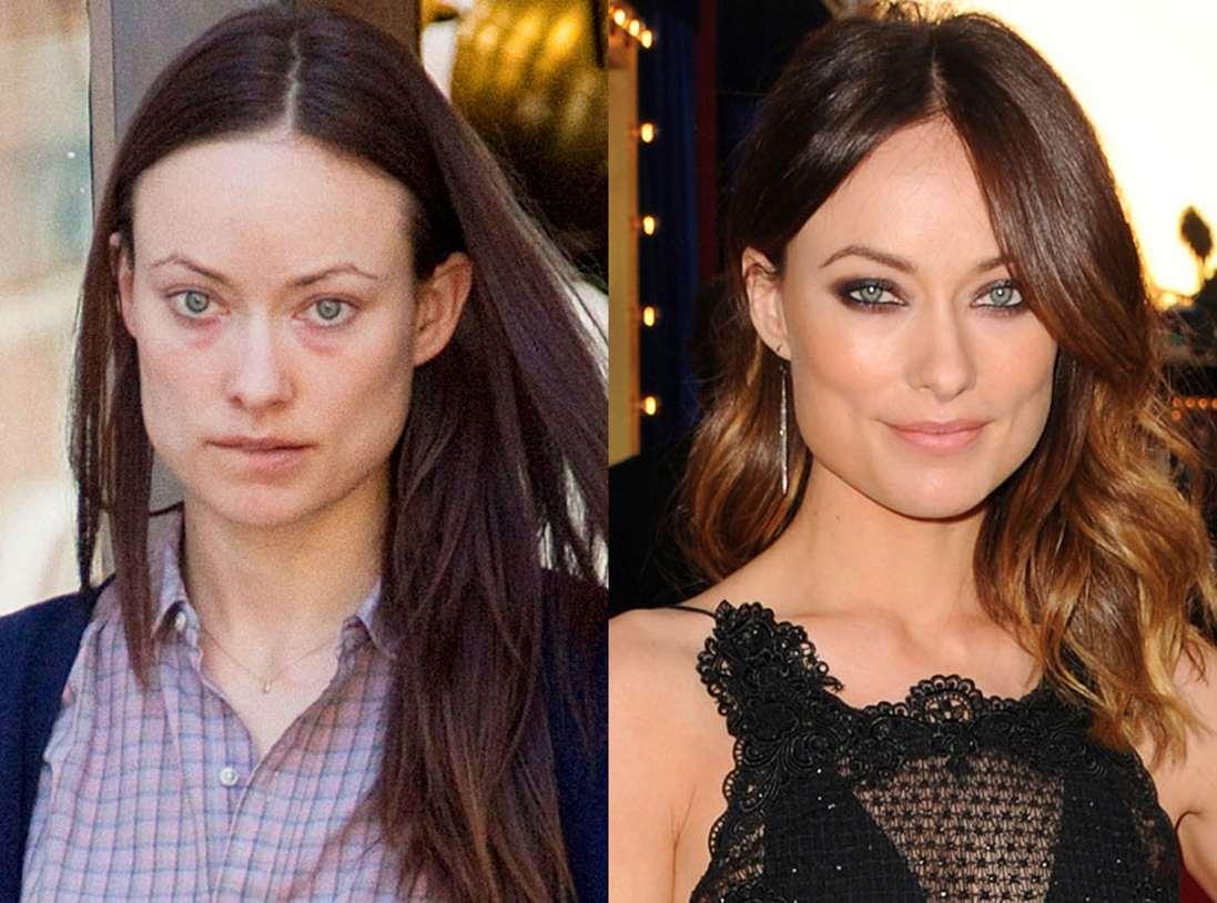 Современные звёзды без макияжа