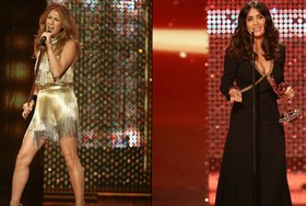 Звезды на Bambi Awards 2012: Сальма Хайек и Селин Дион