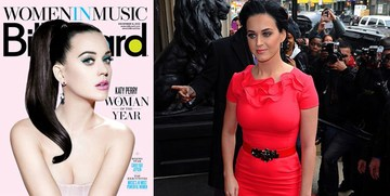 Кэти Перри на церемонии Billboard's Woman of the Year 2012