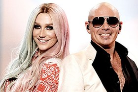 "Песня Kesha и Pitbull ""Timber"" возглавляет Billboard Hot 100"