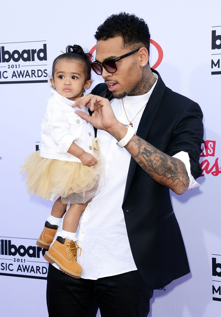 chris brown daughter - 634×907