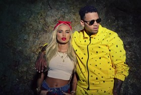 Pia Mia, Tyga и Крис Браун в новом клипе «Do It Again»