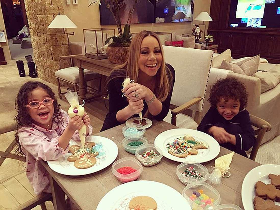 Мэрайя кэри и ее дети фото