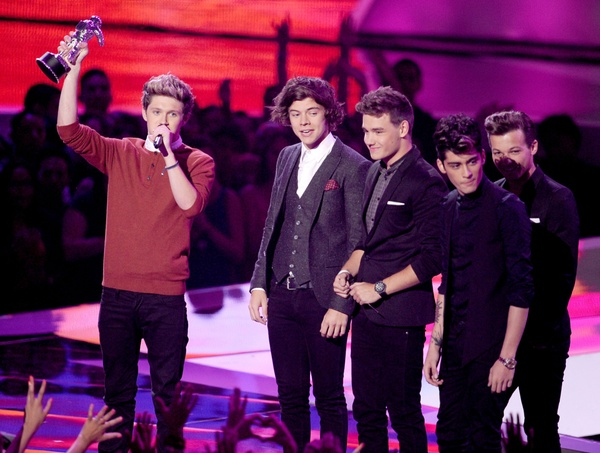 """One Direction"" на MTV Video Music Awards 2012"