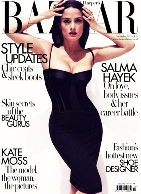 Сальма Хайек в Harper's Bazaar UK за ноябрь 2012
