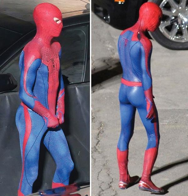 Как сделать костюм как у человека паука в домашних условиях