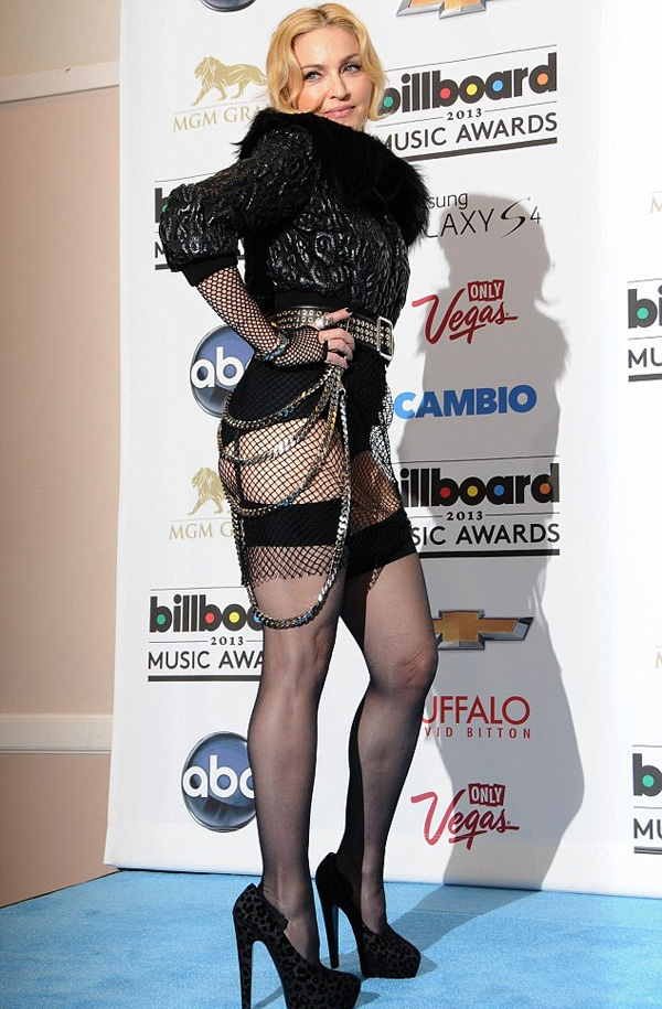 фото Мадонны на Billboard Music Awards 2013