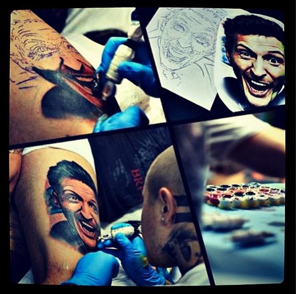 Павел Воля сделал татуировку