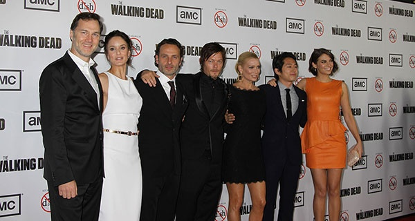 актеры сериала ходячие мертвецы фото