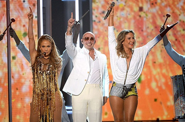 Billboard Music Awards 2014: Pitbull и Дженифер Лопес