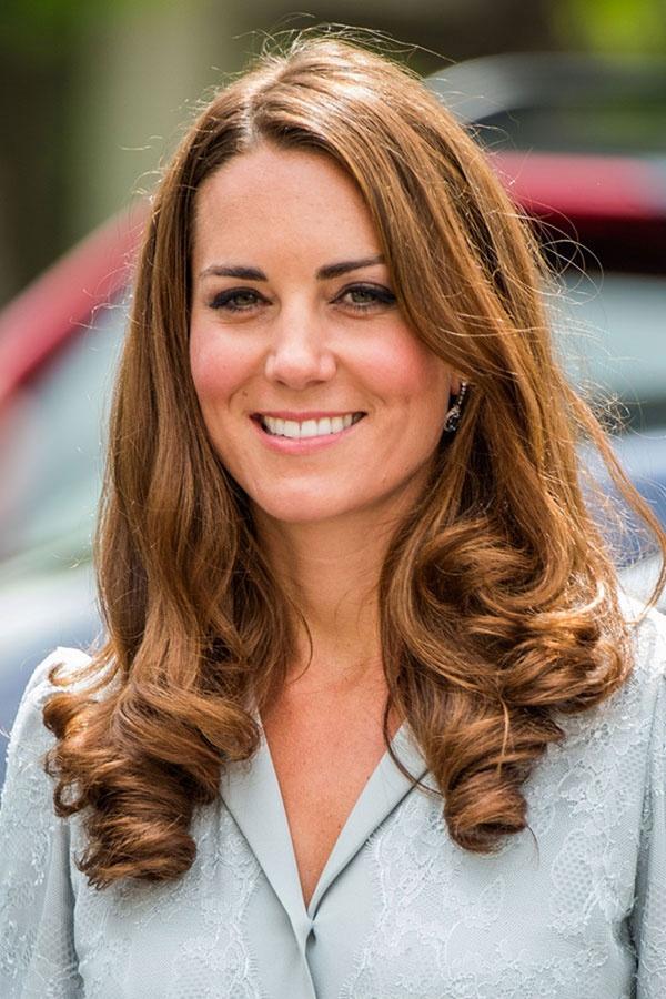 Кейт миддлтон цвет волос