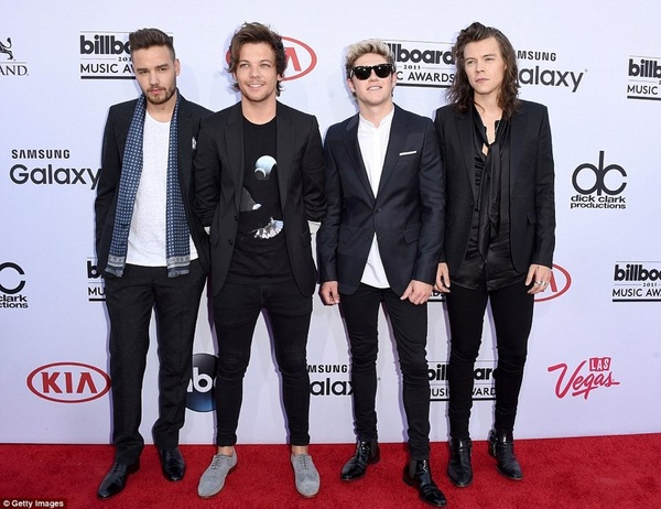 Billboard Music Awards 2015: «One Direction»