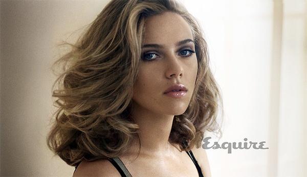 Esquire назвал скарлетт йоханссон самой