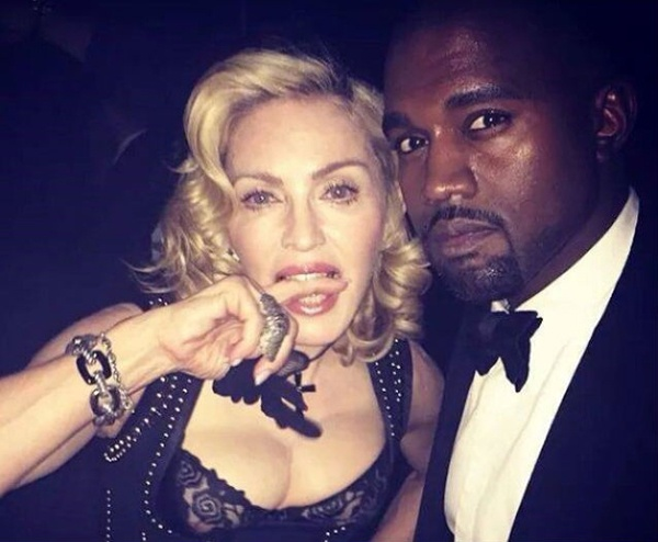 Мадонна поможет Канье Уэсту с записью нового альбома