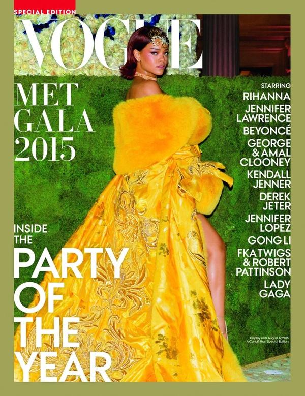 Рианна на обложке специального выпуска Vogue
